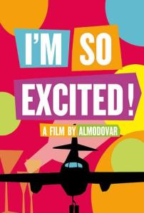 Im-so-Excited-poster-ingles-de-Los-amantes-pasajeros-de-Pedro-Almodovar