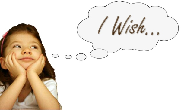 WISHES AND REGRETS…. (LOW B2)