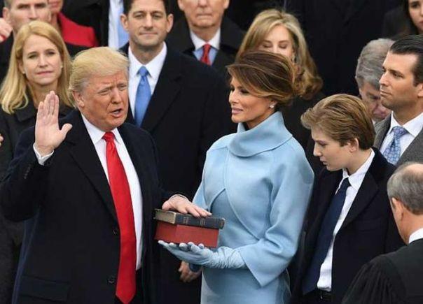 trump-juramento