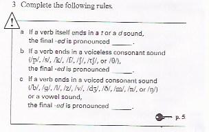 -ed pronunciation rules 2b1